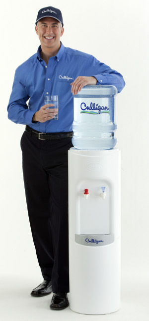 You are in the delivery zone for free Culligan Bottled Water Delivery